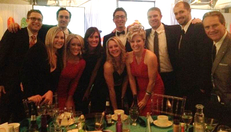Home Loan Insurance employees at the HopeWest Benefit Gala!