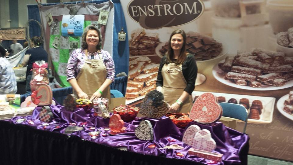 home loan taste of the grand valley- enstrom table