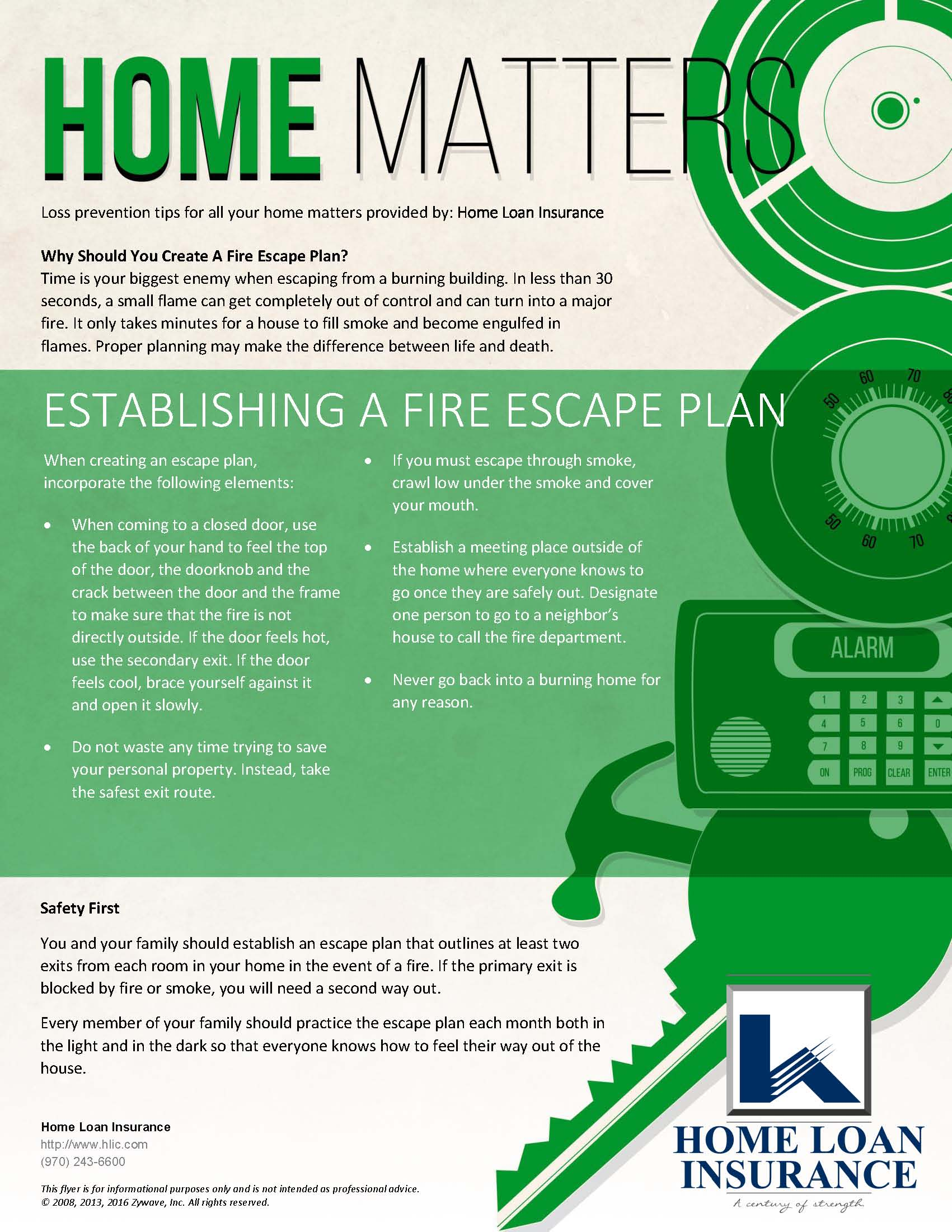 Establishing a Fire Escape Plan for your Family